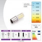 LED lampiņa šujmašīnai ieliekamā 2 W
