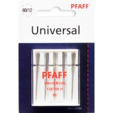 Universālās adatas Pfaff  130/705 H № 80 5gab.