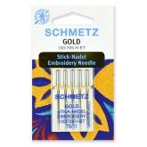 """Adatas Schmetz 130/705 H-ET """"Embroidery"""" №75-5 gab."""