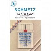 Dubultās adatas Schmetz 130/705 H ZWI 2.0 № 80 sadzīves