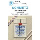 Dubultās adatas Schmetz 130/705 H ZWI 4.0 № 80 sadzīves