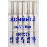 Universālās adatas Schmetz № 80-90-100  5 gab.