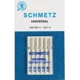 Universālās adatas Schmetz № 70-80-90  5 gab.