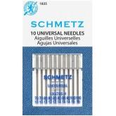Universālās adatas Schmetz № 70-80-90-100  10 gab.
